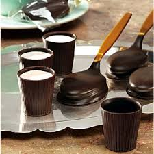 edible chocolate cups to buy come party with me st s day dessert popsugar food