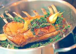 ludo lefebvre u0027s rack of lamb with baby vegetables and caraway
