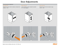 how do i adjust cabinet hinges tutorial adjusting doors and drawers plain fancy cabinetry
