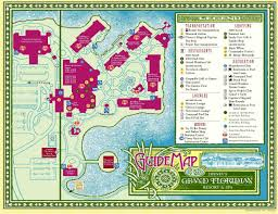 Map Of Hollywood Studios Disney Deluxe Resorts Small Earth Travel