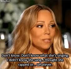 Mariah Meme - mariah carey iconically addresses iconic i don t know her meme i