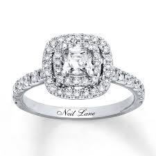 neil engagement neil engagement ring 1 1 8 ct tw diamonds 14k white gold