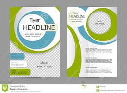 vector flyer template design stock vector image 67942301