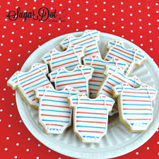 sugar dot cookies nautical baby shower sugar cookies with royal