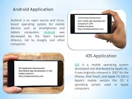 difference between iphone and android difference between android ios