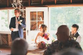 ali u0026 ryan u0027s quirky blue dress barn wedding reception in benton