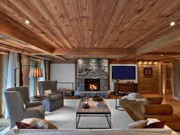 sleek and comfortable modern lodge interior the beauty and