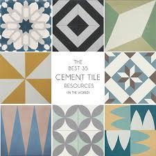 best 25 cement tiles ideas on decorative tile white