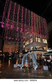 Christmas Decorations Oxford Street - st christophers place christmas stock photos u0026 st christophers