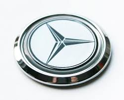 mercedes car emblem automotive emblems mercedes car chrome emblem decal