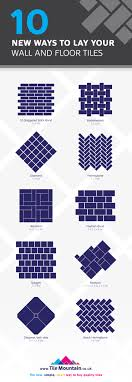 10 ways to lay wall tiles and floor tiles tile mountain