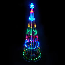 multi color led landscape lighting shop northlight freestanding tree with multi function multicolor led