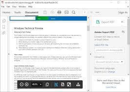 adobe acrobat software free download full version 4 free pdf readers for windows 10