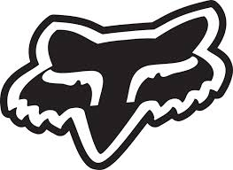 fox motocross stickers orange fox racing logo