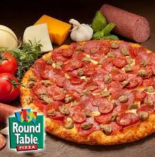 round table pizza all you can eat join us monday friday 11 00 am 2 00 pm all you can eat buffet