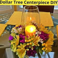 Diy Flower Centerpiece Ideas by 25 Best Dollar Tree Centerpieces Ideas On Pinterest Dollar