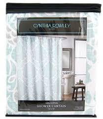 Shower Curtain Amazon Cynthia Rowley Fabric Shower Curtain Happy Elephant Medallion