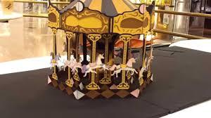 3d pop up carousel merry go 1