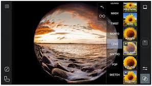 Lensa Cembung Selfie 10 aplikasi kamera fisheye terbaik untuk hp android