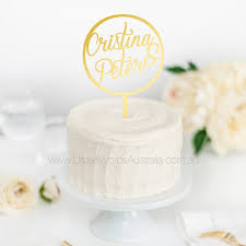 wedding cake toppers fast shipping from geelong