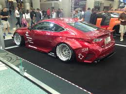 lexus rc rocket bunny greddy rocket bunny rc f from last year u0027s la auto show thoughts