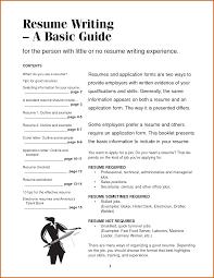 Best Simple Resume Template Sample Of A Simple Resume Resume Samples And Resume Help
