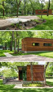 Contemporary Cabin This Small Contemporary Cabin Sits Beside A Lake In Texas