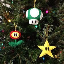 mario bros ornaments moo pig