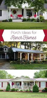ranch style front porch porches on ranch style homes iamfiss com