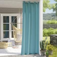 Outdoor Canvas Curtains Outdoor Canvas Curtains Wayfair