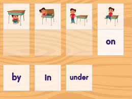 positional words matching game game education com
