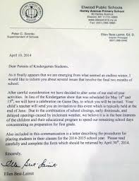 Kindergarten Cancellation Letter kindergarten calls concert to focus students on college career