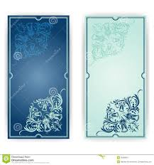 Templates For Invitation Cards Elegant Template For Greeting Card Invitation Royalty Free Stock