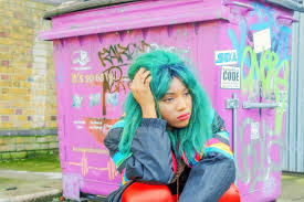 12 ways black women style bright colored pastel natural hair