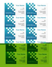 microsoft office word business card templates in word office