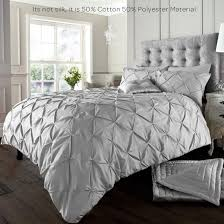 alford duvet cover with pillowcase quilt cover bedding set black