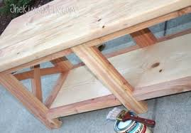 Wood Bench With Storage Diy X Leg Wooden Bench With Crate Storage Shelterness