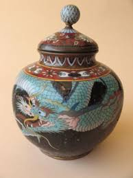 Japanese Dragon Vase 193 Best Cloisonne Images On Pinterest Japanese Art Enamels And