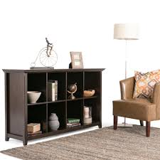 Dark Bookcase Simpli Home Amherst Dark Brown Open Bookcase Axcamh 005 The Home