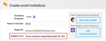 email invitations how to write a successful invitation email to burst out a great