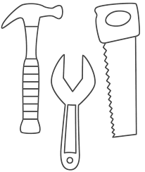 construction coloring pages free printables coloring home
