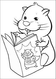 zhu zhu pets coloring pages