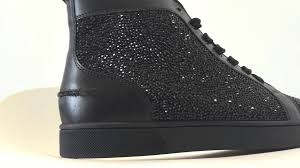 christian louboutin black strass in depth youtube