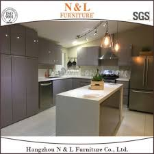 2017 new design self adhesive commercial flat pack kitchen cabinet