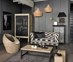 idee deco salon canape noir déco salon gris 88 idées pleines de charme salons salon