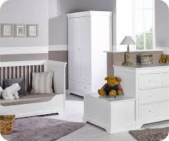 chambre compléte bébé chambre bébé complète mel blanche avec armoire