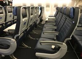 Delta 777 Economy Comfort Reader Report United Economy Plus On New B777 300er Travelskills