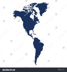 Map Of South America And North America by North South America Map Background Vector Stock Vector 504434467
