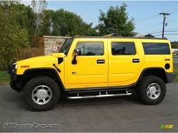 New Hummer H2 2003 Hummer H2 Suv In Yellow 127091 Nysportscars Com Cars