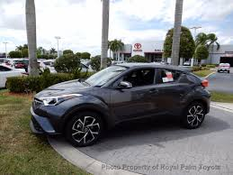 2018 toyota c hr will 2018 new toyota c hr xle fwd at royal palm toyota serving